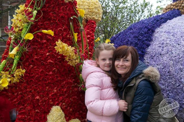 На параде цветов
