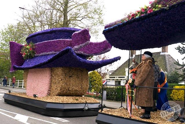 Шляпка из цветов, Голландия