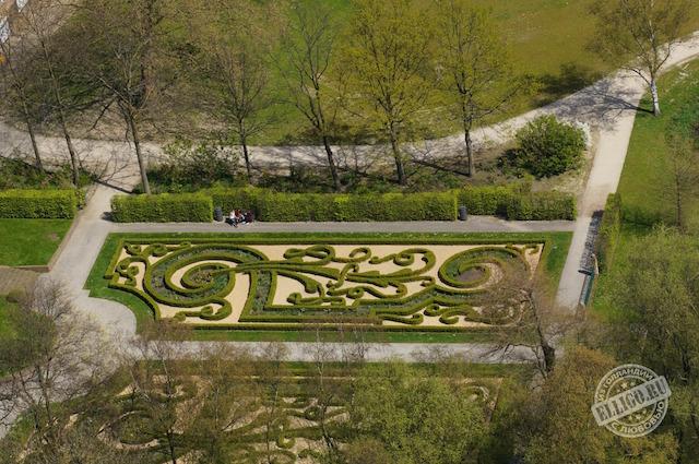 английский парк в Роттердаме