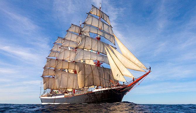 Фотография с официального сайта барка Седов http://www.sts-sedov.info