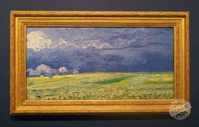 Пшеничное поле, Ван Гог