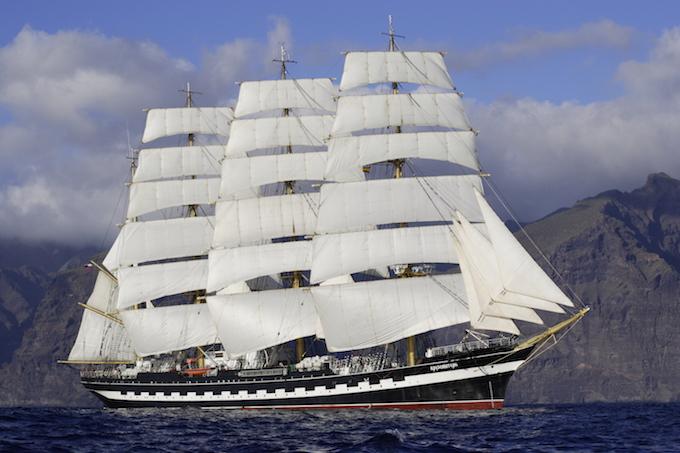 """Корабль """"Крузенштерн"""", фото с сайта http://www.liveinternet.ru"""