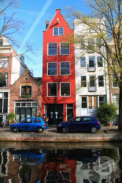 красный дом, Амстердам