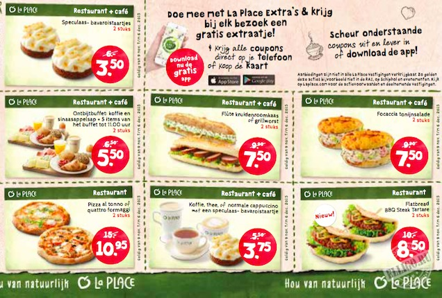 LaPlace-coupons